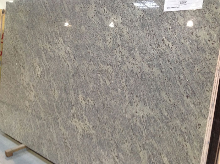 New Kashmir White 3cm Polished Granite #150102-O (STP)