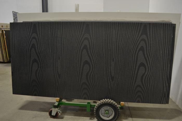 AB Black OAK Design 2cm Leathered Granite #131004-LTHR (ANT)