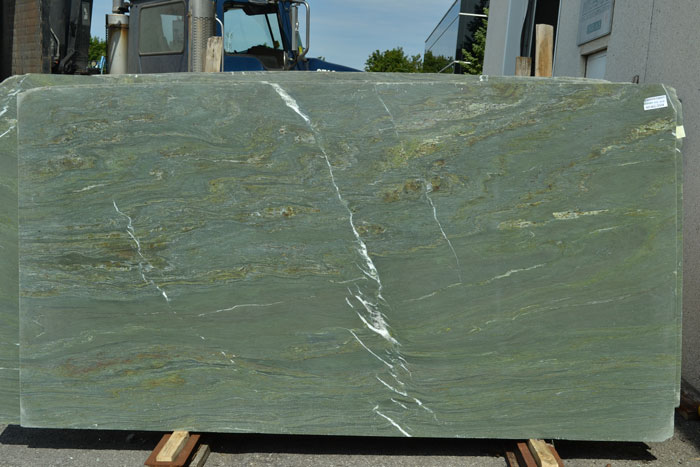Mykonos Green 2cm Polished Marble #040401-Pol Mar (TMS)
