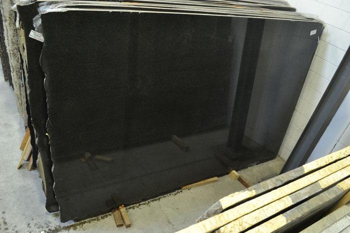 Nero San Gabriel 3cm Polished Granite #180610 (ZINI)