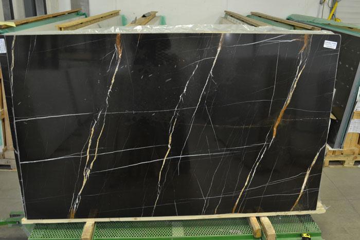 Sahara Noir 2cm Polished Marble #190115 Pol Mar (FAV)