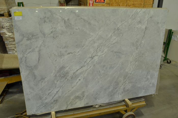 Super White Calacatta 3cm Polished Granite #170303 (MMS)