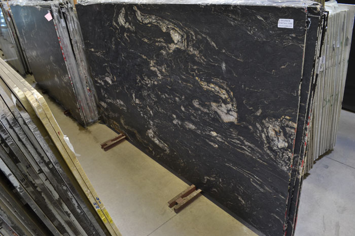 Titanium 2cm Leathered Granite #190710-LTHR (EUG)
