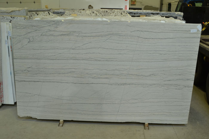 White Macaubas 2cm Polished Quartzite #161209-QTZ (MCS)