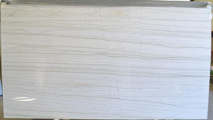 White Macaubas 2cm Polished Quartzite #170209-QTZ (GZL)