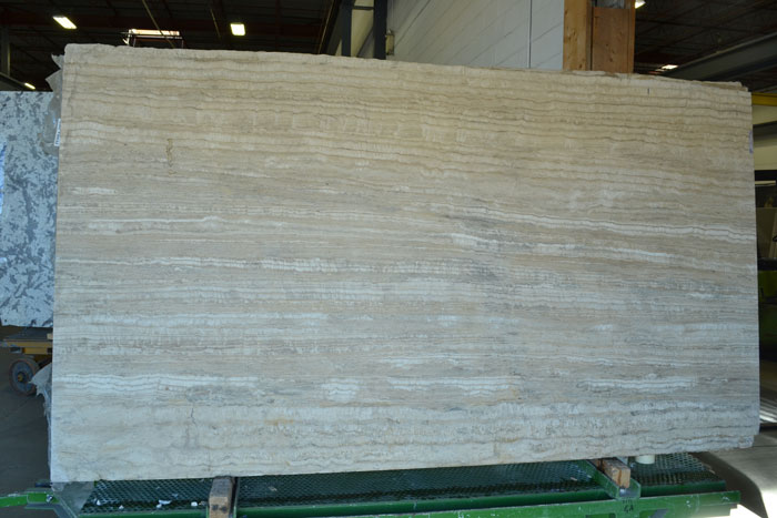 Pedra Dark 2cm Honed Travertine #100132-TR Honed (GAL)