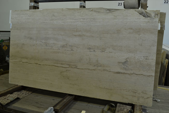 Rumi 2cm Honed Travertine #100824-Tr Honed (GAL)