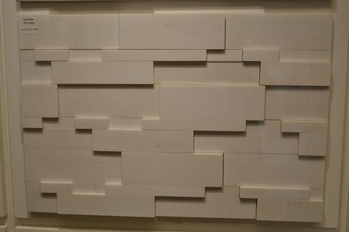 Dolomite 18x6 Strip DOLO-STR-3D-MHP