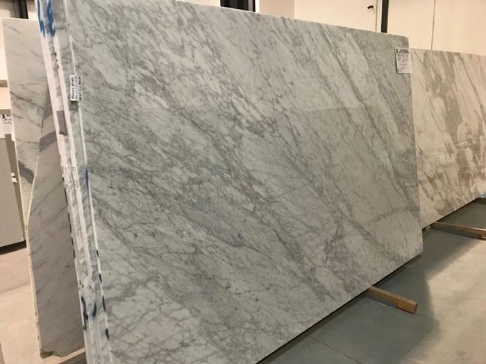 Bianco Carrara 3cm Polished Marble #201112-O (MGO)