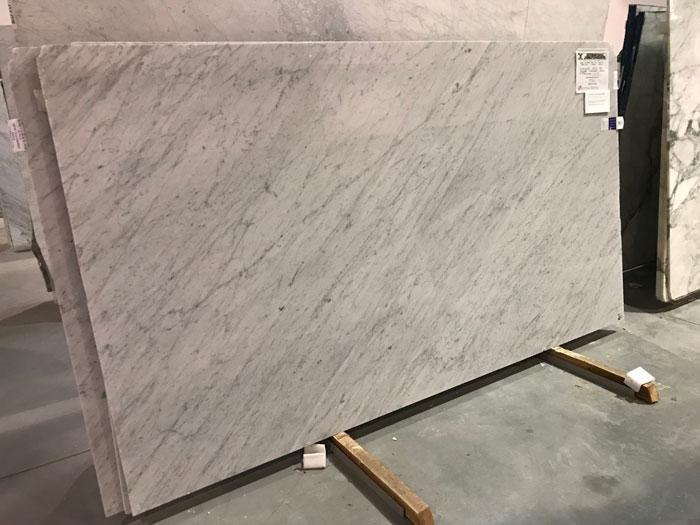 Bianco Carrara Treated SCS 3cm Marble Polished #200403-O (MGO)