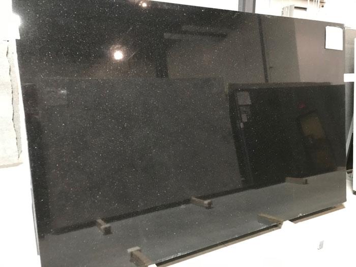 Black Galaxy 3cm Polished Granite - O