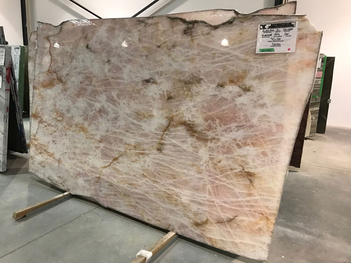 Quarzo Rosa 2cm Polished Quartzite #181116-O (FAV)