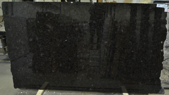 Antique Brown 2cm Polished Granite #180728 (MGO)