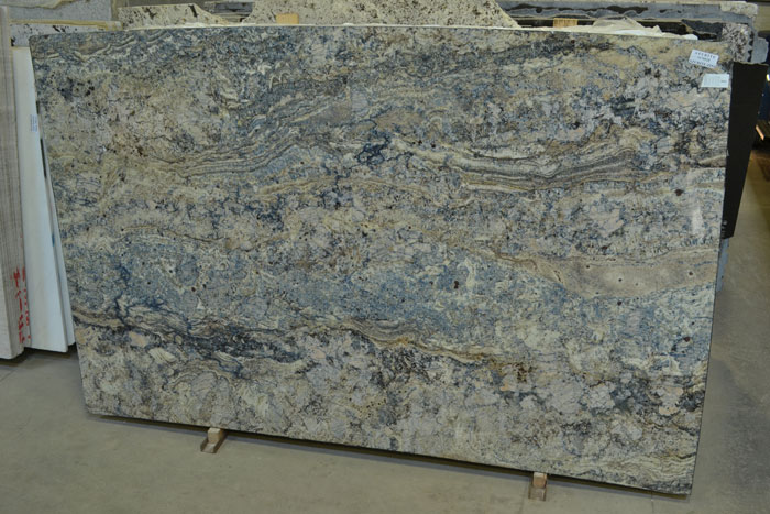 Azurite 2cm Polished Granite #170528 (ZINI)