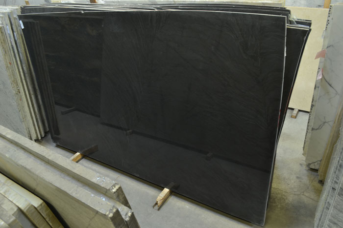 Brilliant Black 3cm Polished Granite #181113 (FAV)