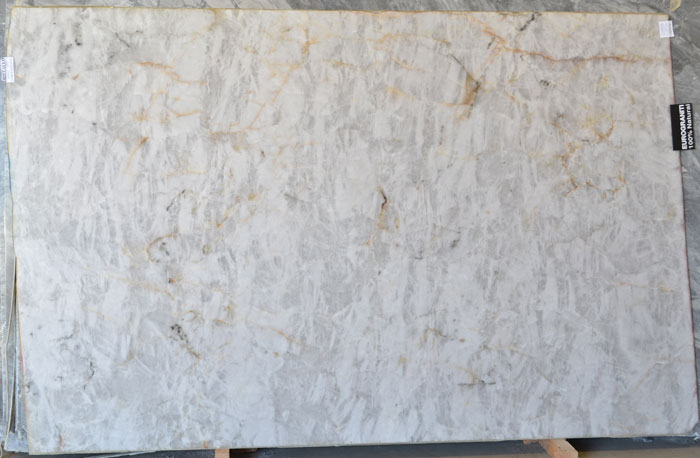 Cristallo 2cm Polished Quartzite #190117-QTZ (EUG)