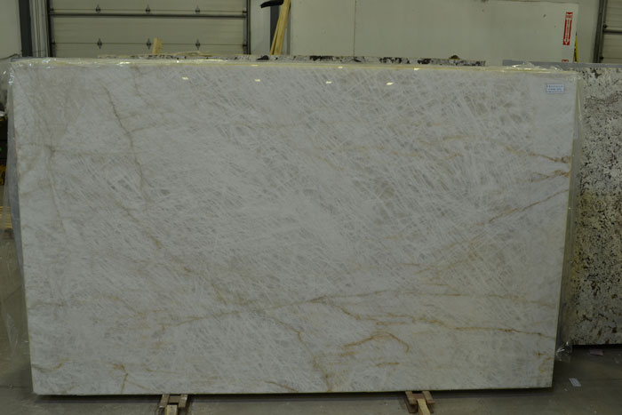 Cristallo Extra 3cm Polished Quartzite #170308-QTZ (EUG)