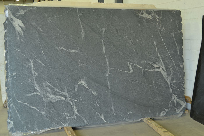 Elegant Grey 2cm Leathered Granite #181115-Pol-Lthr (FAV)