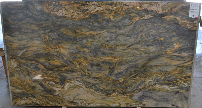 Fusion Top 2cm Polished Quartzite #200509-QTZ (FAV)