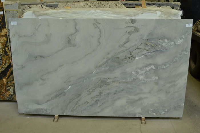 Grey Cloud 2cm Polished Quartzite #170322-QTZ (MGO)