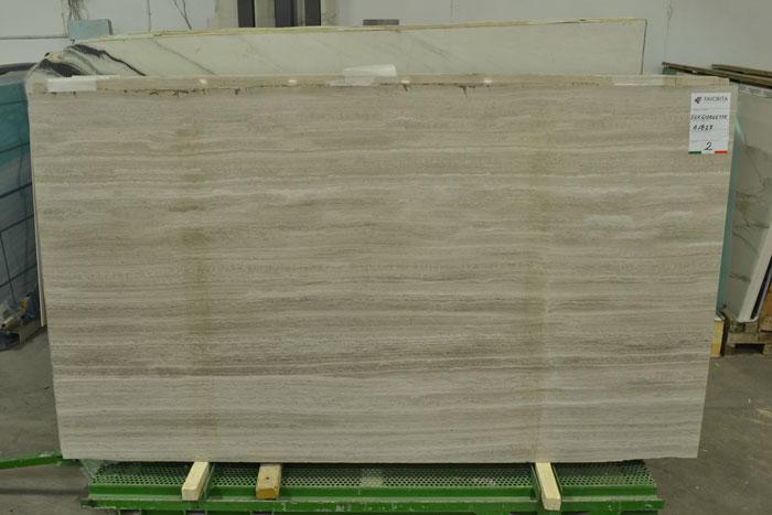 Noble Grey Light 2cm Marble #190207-Pol Mar (FAV)