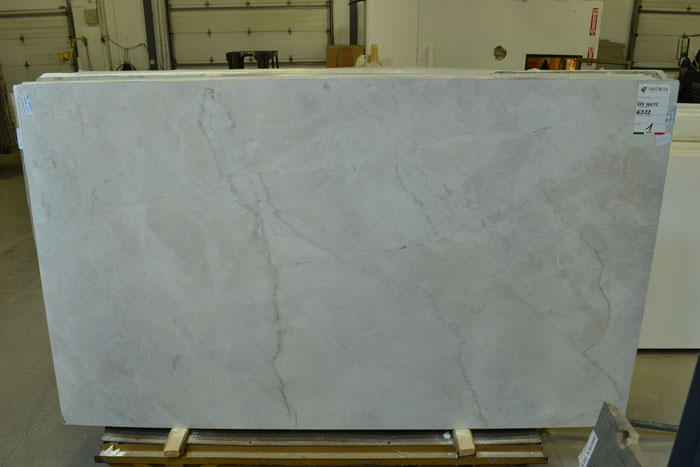Sky White Extra 2cm Polished Quartzite #180905-QTZ (FAV)