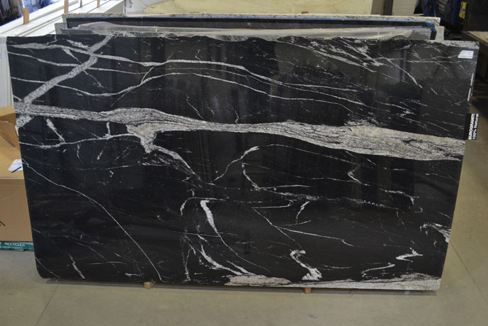 Stardust Black 2cm Polished Granite #190117 (EUR)