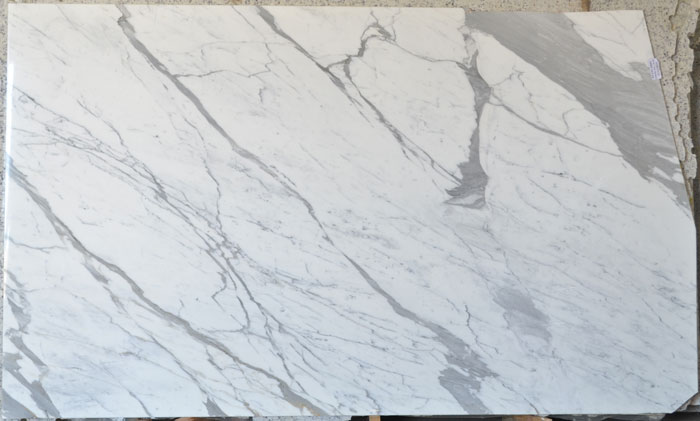 Statuario 2cm SCS Polished Marble #200106-Pol Mar Treated (MGO)