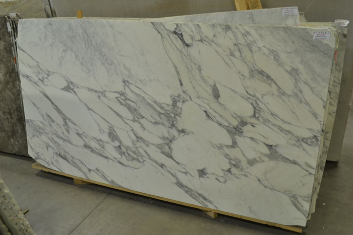 Statuario BLK#3811 2cm Polished Marble #160108-Pol Mar (FAV)