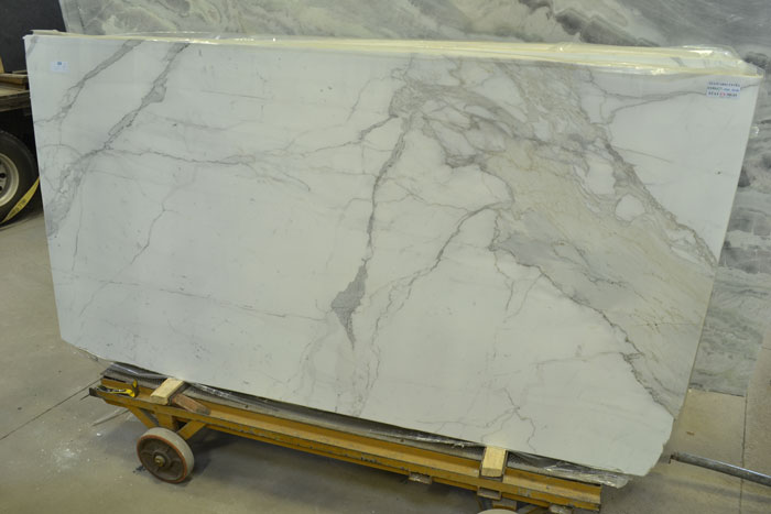 Statuario Extra 2cm Polished Marble #180427-Pol Mar (MGO)