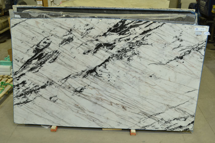 Tiffany White 2cm Polished Quartzite #190210-QTZ (MGO)