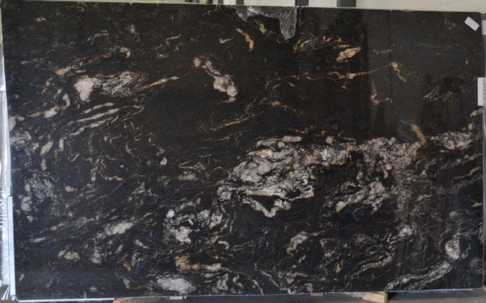 Titanium Gold 3cm Polished Granite #210609 (EUG)