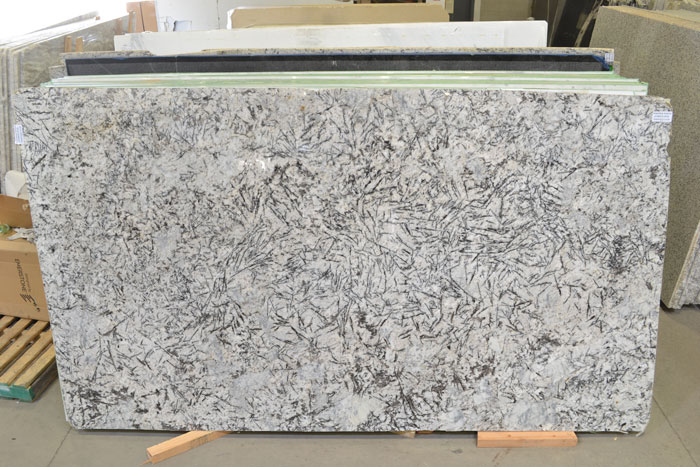 Whisper White 2cm Polished Granite #190525 (GLOB)