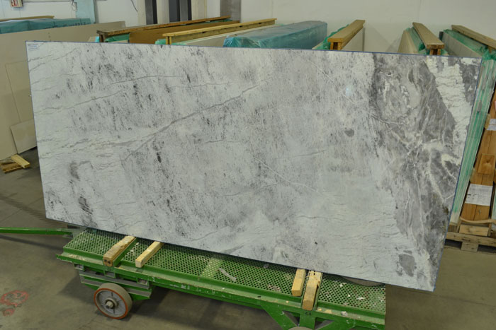 White Princess 3cm Polished Quartzite #170423-QTZ (MGO)