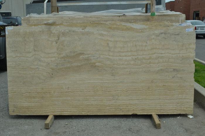 Pedra 2cm Polished Travertine #100823-Tr Pol (GAL)