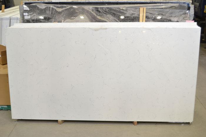 Carrara White Polished Quartz (EMG)