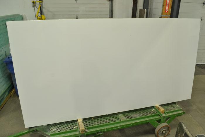 Chalk White Polished Quartz (PAN)